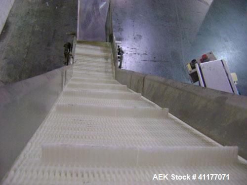 Used- Nercon S Shaped Inclined Belt Conveyor
