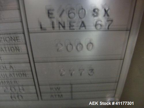 Used- Stainless Steel O.Z.A.F. Cap Elevator, Model E/60SX