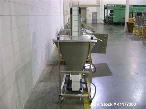 Used- TEC Engineering Ultraline Series Bulk Elevator Feeder