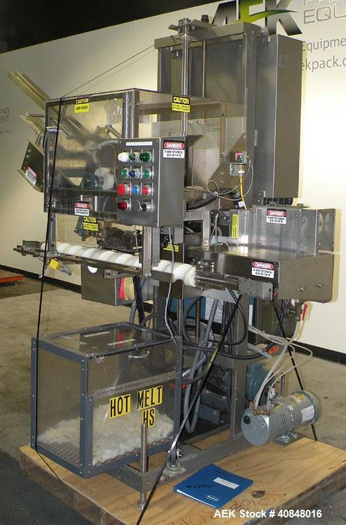 Used- Thiele Rotary Outserter/Topserter Placer, Model 34-000