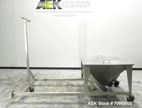 Used- Stainless Steel Inclined Feeder