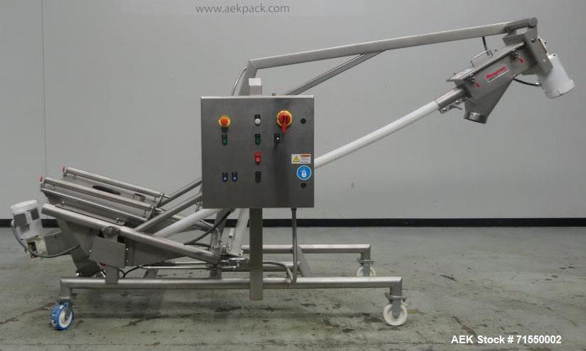 Unused- Flexicon Model 1250 Screw Conveyor
