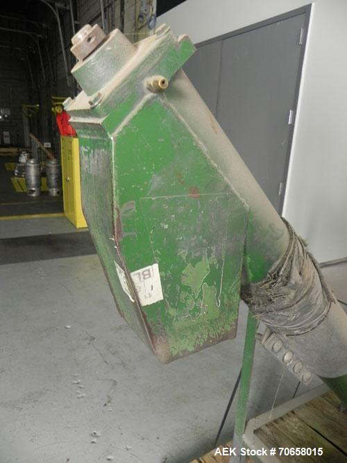 Used- IMCS Model Mighty Mite Solid Core Auger Screw Feeder