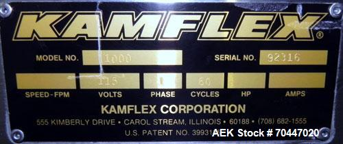 Used- Kamflex Corp Elevair Air Operated Conveyor, Model 1000