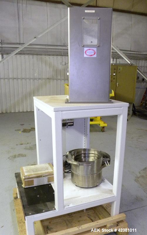 Used- Stainless Steel California Vibratory Parts Feeder