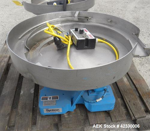 Used- FMC Magnetic Parts Feeder, Model EB142