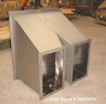 Unused-Optima Machinery Net Weighing Vibrating Pan Feeder, Model CB 2/4