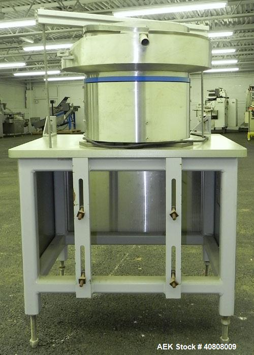 Used- Stainless Steel Sikora Automation Vibratory Parts Feeder