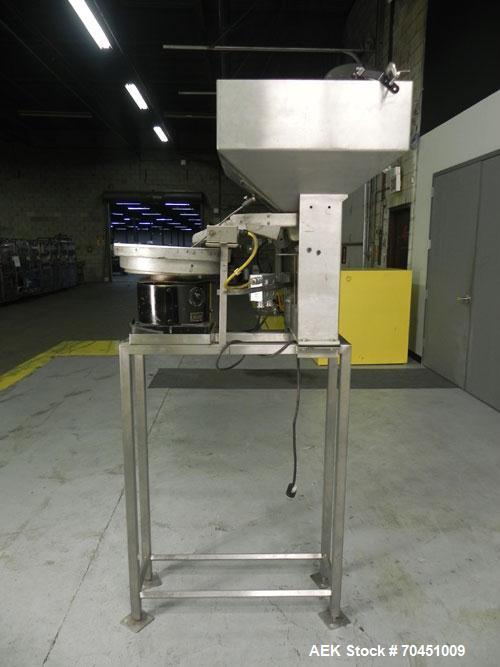 "Used- Syntron ""Vibratory Parts Feeder"" Model EBO 10 Centrifugal Bowl Feeder"