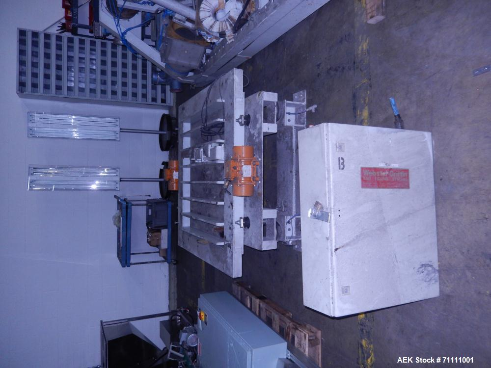 Used-Webster Griffin Model IBC Bag Filling System