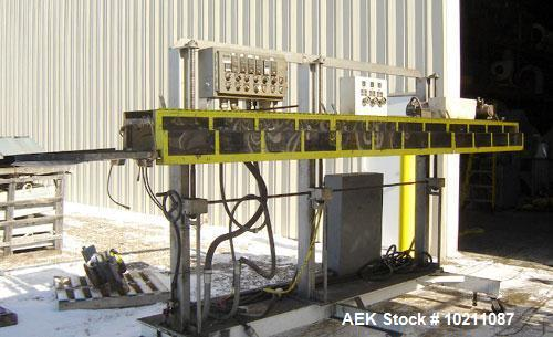 Used-American Newlong Model 3CM-PDSLVR Automatic Bagging Machinery