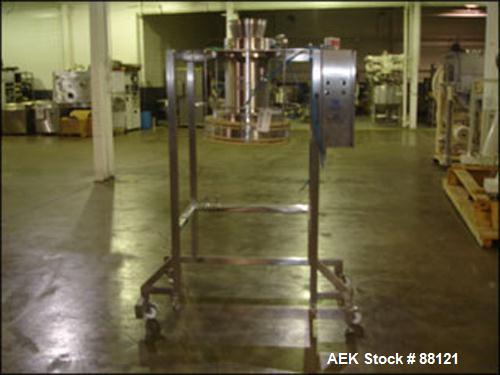 Used- Stainless Steel Extract Technology Powder Filling Station
