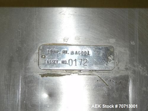 Used- Fairbanks Model 41-3132 Double Head Bag Filling and Weighing Machine. Has (2) Fairbanks model 41-3132 scales with capa...