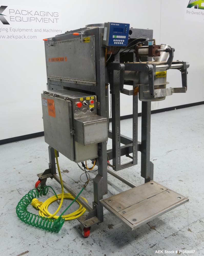 Used- Thiele Technologies (Bemis) Model 5505-C Auger Valve Bag Packer