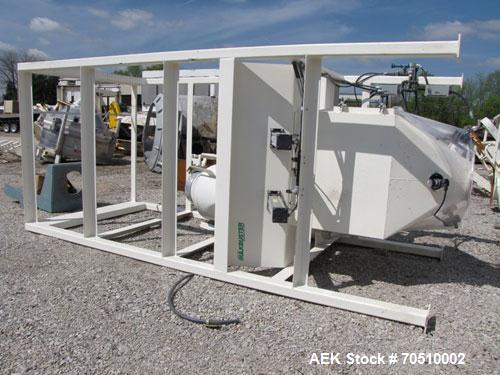 Used-Dynamic Air Bulkbuster Bulk Bag Unloader.  Includes a 2 ton Harrington electric hoist and pick up device for supersack....