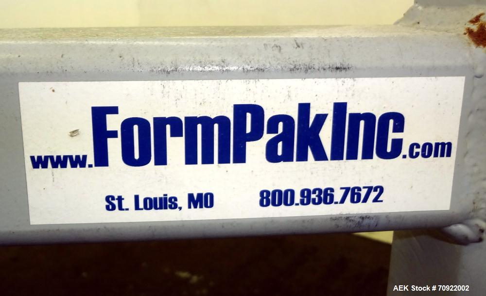 Used- FormPak Manual Bag Pak Spout Top Bulk Bag Filler.  For  filling of spout top Super Sacks weighing up to 4000 lbs. An a...