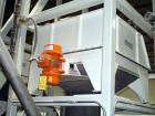 Used- Metalfab Bulk Bag Unloading System Consisting Of: (1) Carbon steel 96'' long x 62'' wide x 232'' tall, with a top moun...
