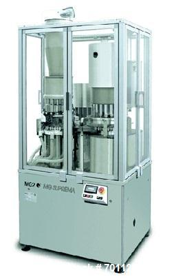 Used- MG-2 Suprema Continuous Motion Powder Capsule Filler