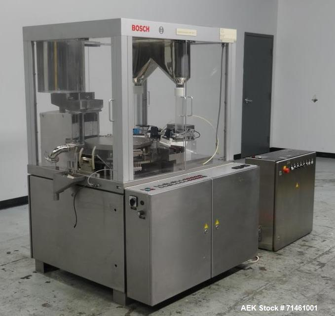Used- Bosch Model GKF 1500 Automatic Capsule Filler for Mini-Tab/Pellets
