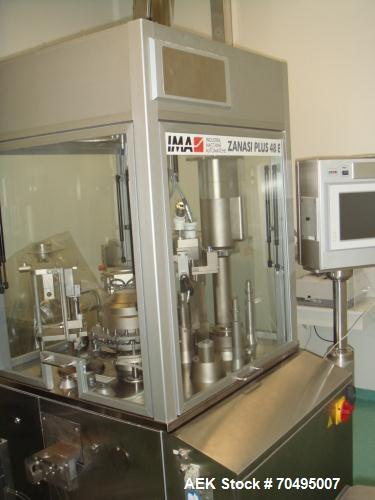 Used- IMA Zanasi Plus 48E Capsule Filler for Powder.