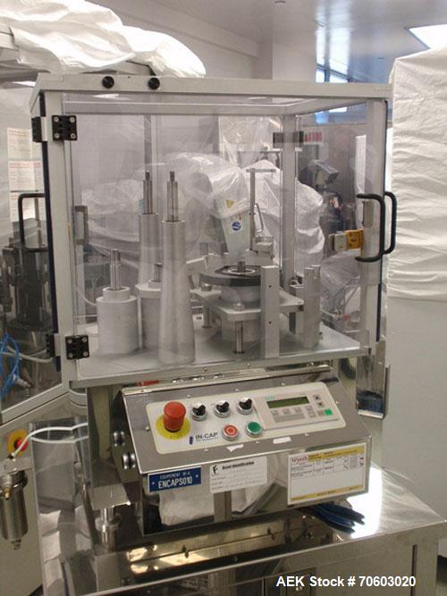 "Used- Dott. Bonapace Model ""In-Cap"" Automatic Bench Top Capsule Filling Machine"