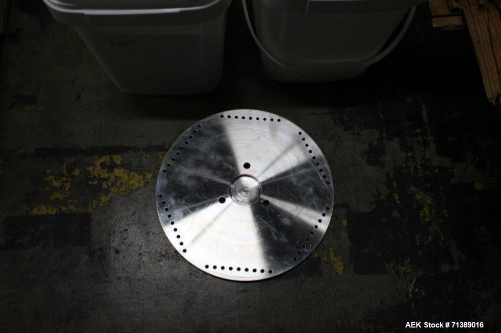 Used- Vanguard Model VAF-1200C Capsule Filler Change Parts, Size #2