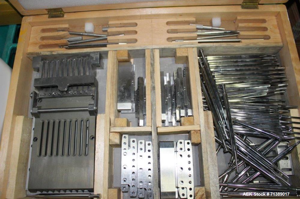 Used- Vanguard Model VAF-1200C Capsule Filler Change Parts, Size #4