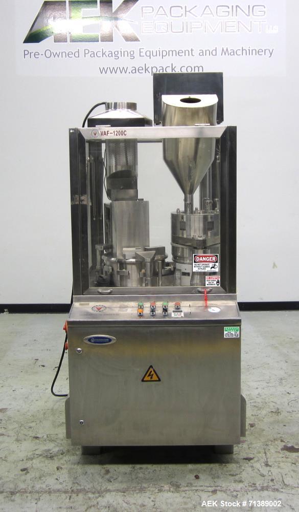 Used- Vanguard Model VAF-1200C Capsule Filler