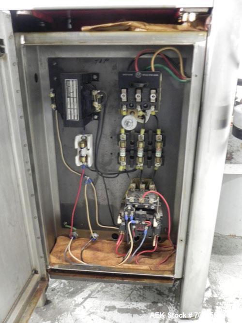 Used- Capsugel Parke Davis Type 8 Semi Automatic Capsule Filler