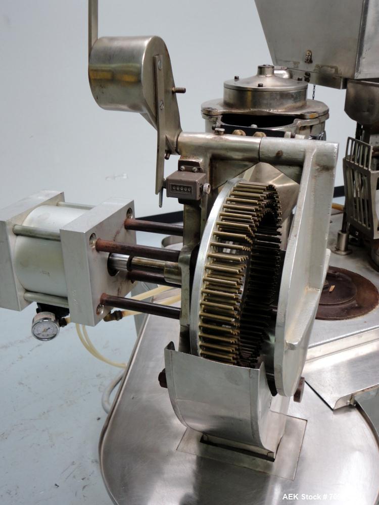 Used- Capsugel Type 8 Semi Automatic Capsule Filler