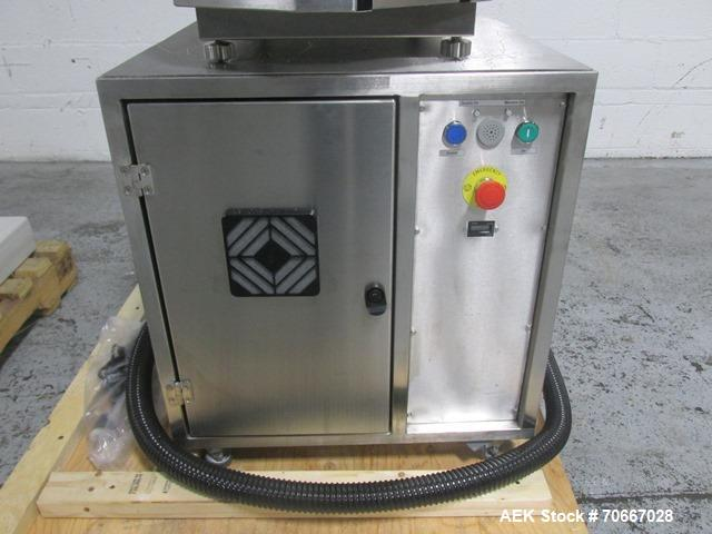 Used- Capsugel XcelodoseS Capsule Filler, Model XD600S.