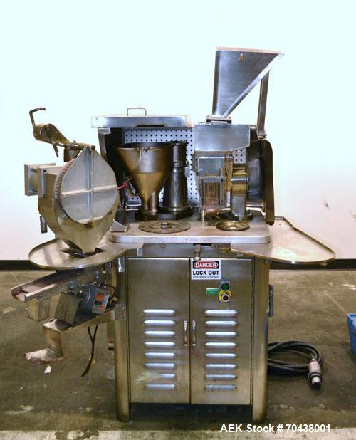 Used- Schaefer PD8 Semi-Automatic Capsule Filler