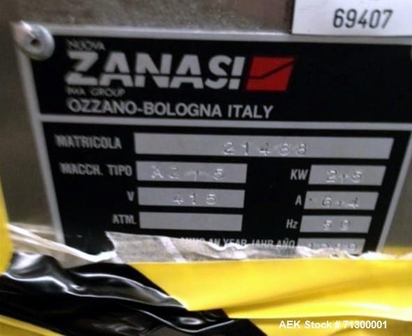 Used- IMA Zanasi Capsule Filler, Model AZ/20