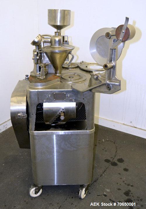 Used- Parke-Davis Type 8 Semi-Automatic Capsule Filler