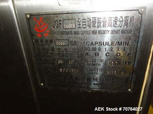 Used- Ruian Fuchang Co Automatic Capsule Filler, Model 2000B
