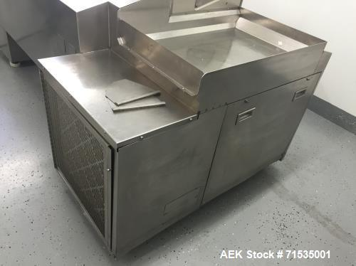 "Used- GIC 8 Basket Soft Gel Tumble Dryer. Includes (9) new baskets, new dryer doors. Baskets are 10"" x 22"", automatic timed ..."