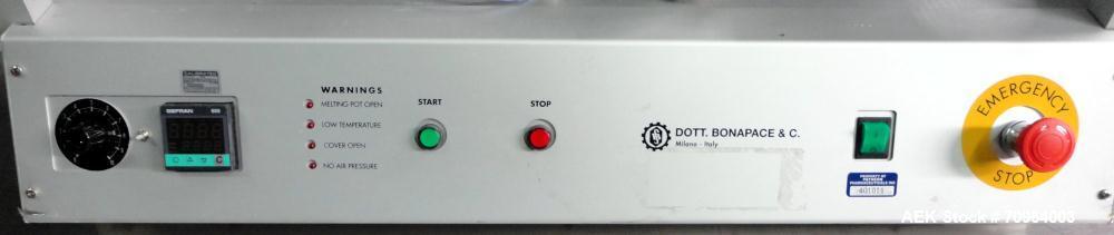 Used- Dott. Bonapace Model BD3000 Hard Gelatin Capsule Sealing Machine