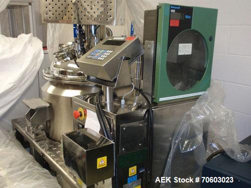 Used- Vanguard VSG-52B Mini Softgel Encapsulator.  Includes chiller unit, (2) tumble dryers, spare rolls, 150 lt gelatin mel...