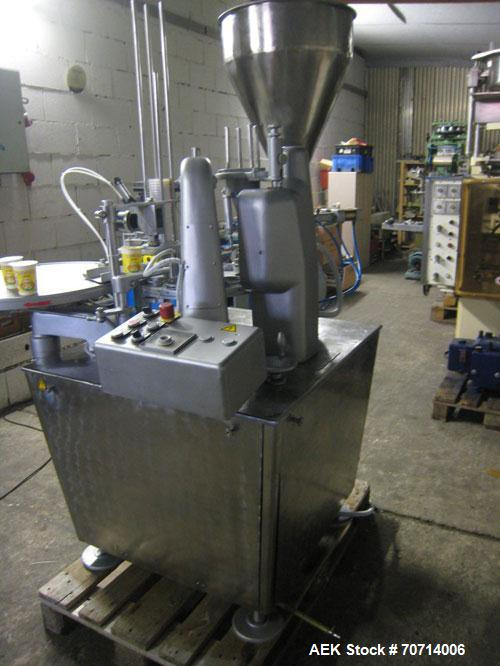 Used-Hamba 2400 Cup Fill and Closing Machine