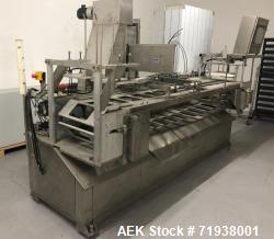 Used- SLP Catani Ice Cream Inline Cup Filler. Type Straight-line Filler/1 or 2 rows. Capable of speeds up to 25 cups per min...