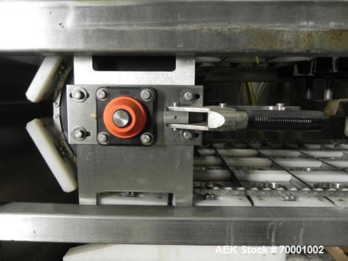 Used- Pryor Packaging 4 Lane Inline Cup Filler