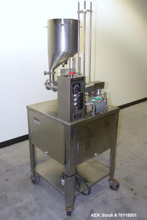Used- Autoprod (Oystar) Model 2000 Fil-N-Seal Rotary Cup Filler and Heat Sealer. Filler for thin liquids only water like pro...