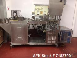 Used- Andersen Carton Filler, Model 555-R. 56 oz. Up to speeds of 1200 gallons of ice cream mix per hour. Includes spare par...
