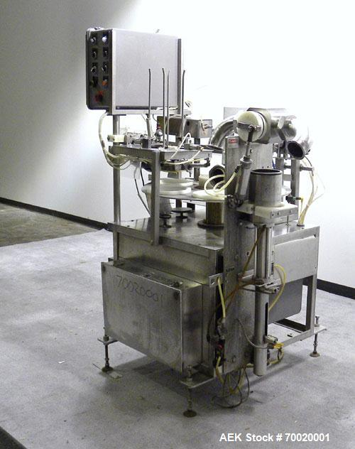 Used- T.D Sawvel Automatic Rotary Cup/Tub Filler, Model 110