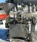 Used- Autoprod Cup Filler, Model RO-A3, 8 station, stainless steel. Currently set up for 4-1/4