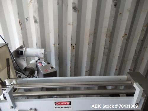 Used- World Cup Packaging 8-80 Cup Filler. Container size: up to 80 ounces or up to 6.5 inch maximum diameter with change pa...