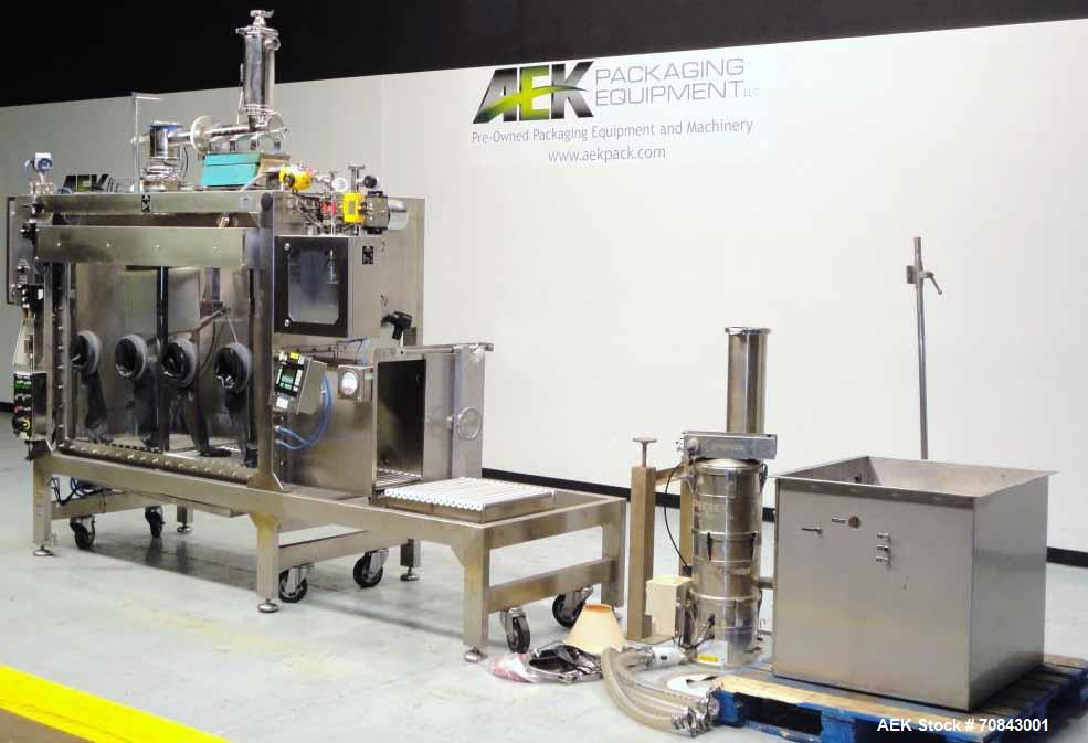 Used- DEC Containment Powder Filling System