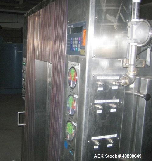 Used- Stainless Steel Extract Technology Laminar Pack Off System