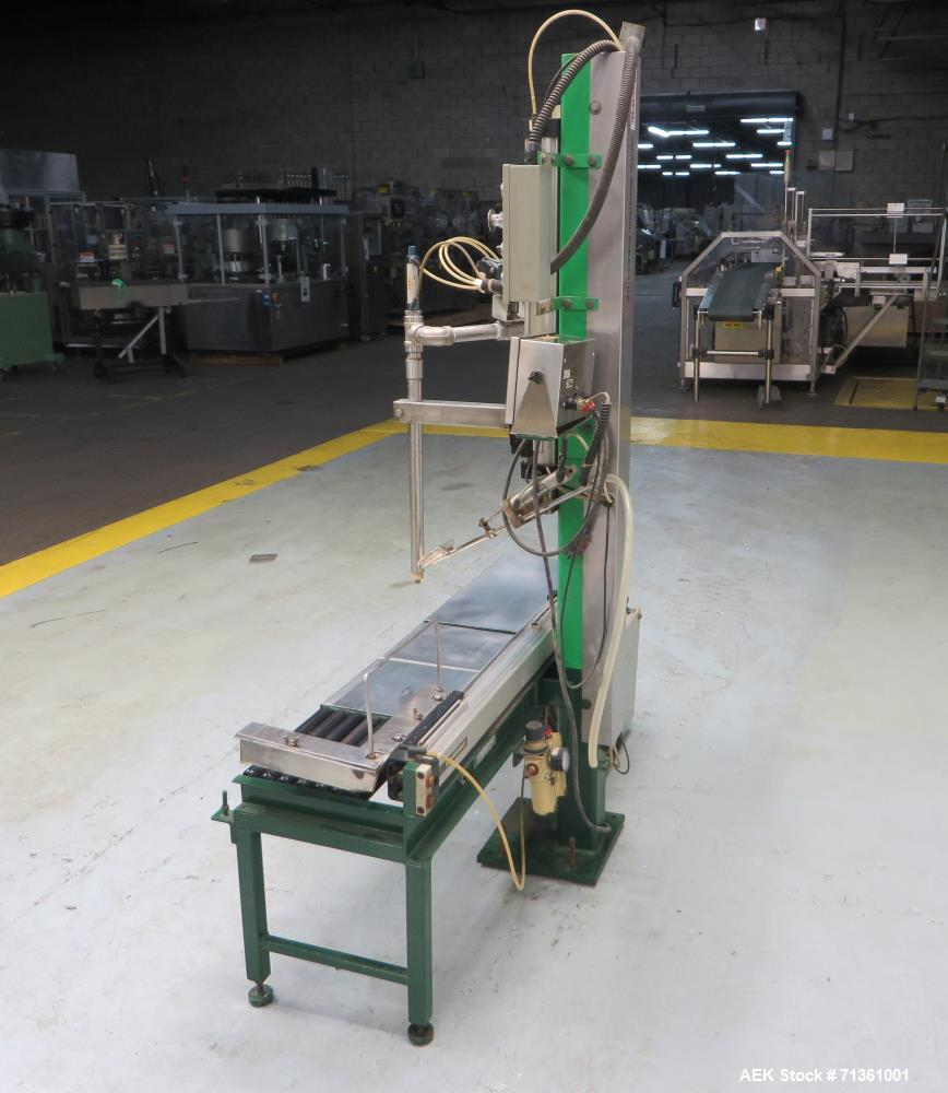 Used- Pacific Semi-Automatic Single-Head Net Weight Pail Filler