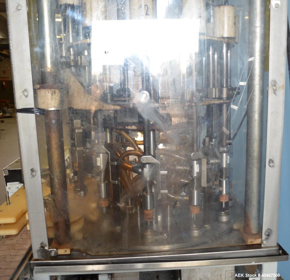 Used- Elgin MRM Model R50 Husky 1, 12 Head Filler.